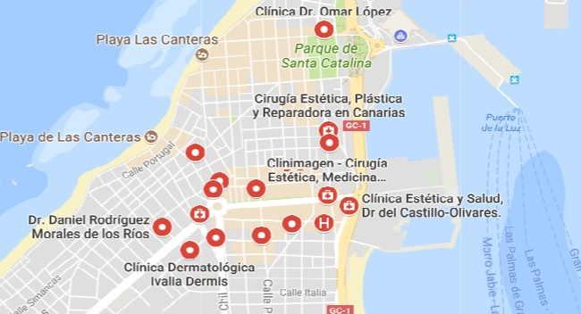Cirujanos plásticos Las Palmas